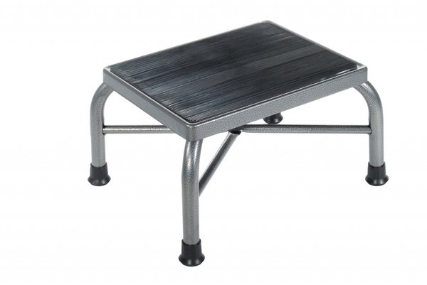 Heavy Duty Bariatric Footstool with Non Skid Rubber Platform - 13037-1sv
