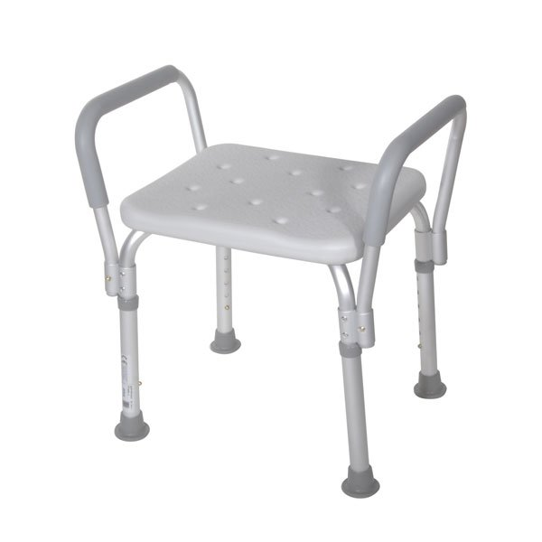 Bath Bench with Padded Arms - 12440-1