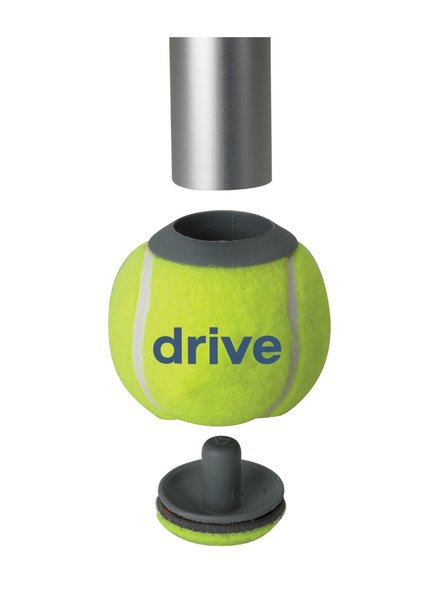 Walker Rear Tennis Ball Glides with Can - 10119