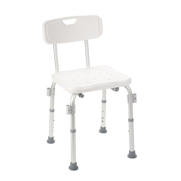 Bath Bench with Padded Arms and Back - 12445-1