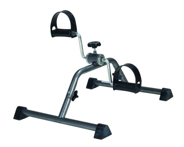 Exercise Peddler with Attractive Silver Vein Finish - 10270kdrsv-1