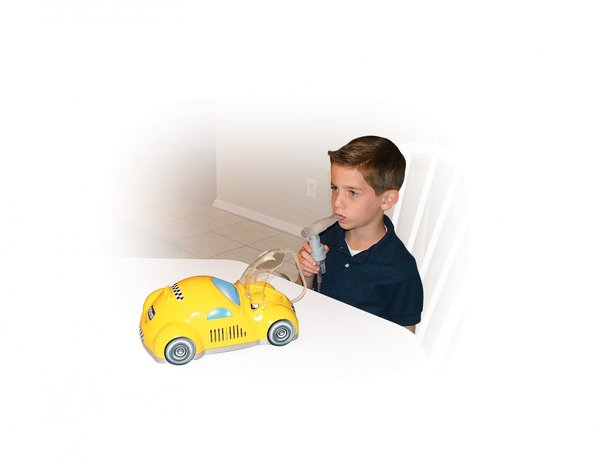 Yellow Piston Powered Checker Nebulizer - 18040-y