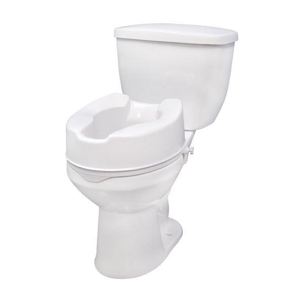 Raised Toilet Seat with Lock - 12066