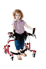 Pediatric Star Red Posterior Gait Trainer - sr 3100