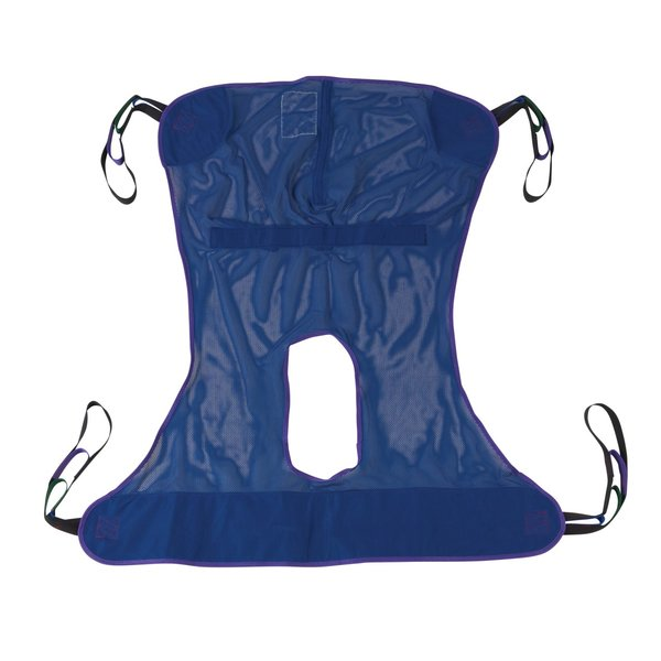 Full Body Patient Lift Sling with Commode Cutout - 13221m