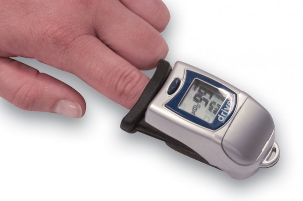 Finger Tip Pulse Oximeter with Large LCD Display - 18700