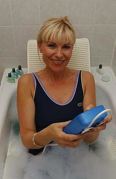 AquaJoy Premier Plus Reclining Bathlift - bl100-dr