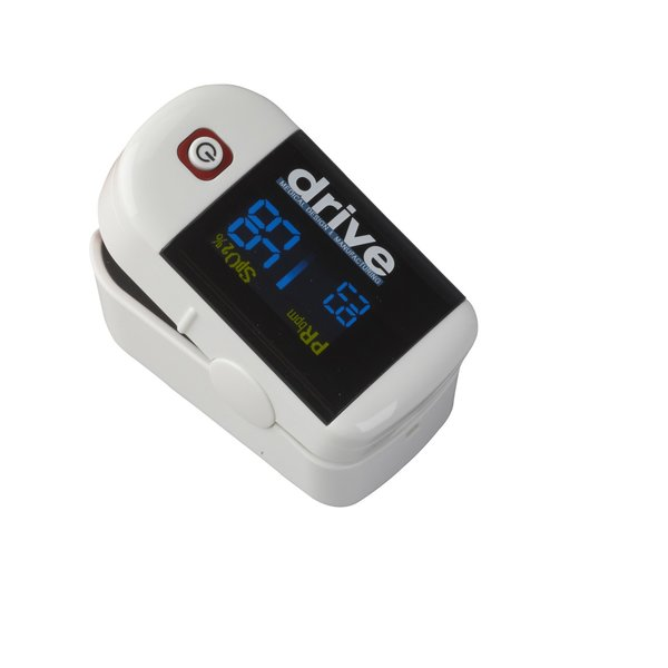 Clip Style Fingertip Pulse Oximeter with Dual View LCD - 18705