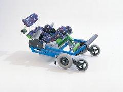Traveler Stroller Base for MSS Tilt and Recline Seating System - ms 5000