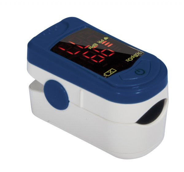Health OX Clip Style Fingertip Pulse Oximeter with LCD Screen - 18710