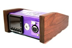E-Wax Mini Walnut Purple Metal Flake