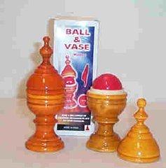 Ball & Vase - Wood (Deluxe)