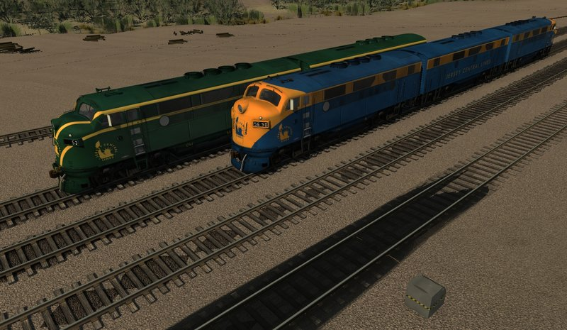 Diesel Locomotives | Trainz Forge