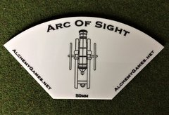Acrylic Arc of Sight - Cannon White