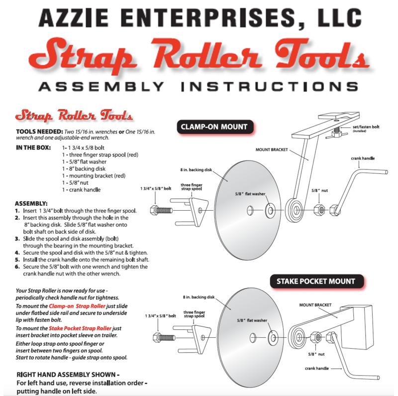 Strap Roller Tools | Azzie enterprises llc