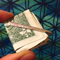 Handmade Sterling Silver Money Clip with Custom Variation