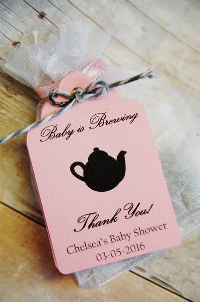Tags 2 5 Quot Tag Only Baby Is Brewing Qty 1 10 Tags