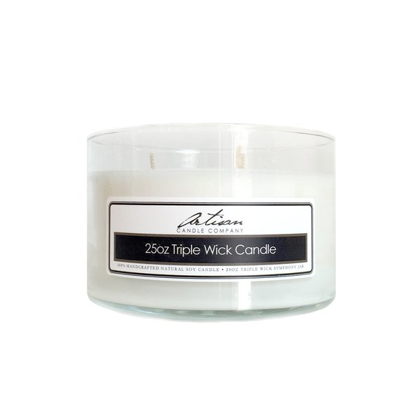 25 oz Triple Wick Candle