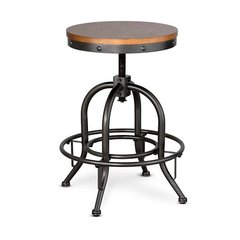 Adjustable Stool Industry Style
