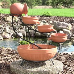 Solar Cascade Water Fountains
