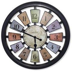 """Kalediscope Wall Clock 18"""""""