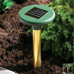 Solar Powered Green Ultrasonic Pest Control Device