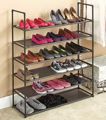 6-Tier Stackable Shoe Storage Rack