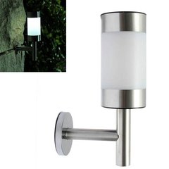 Stainless Steel Garden Solar Lamp Wall Mounted