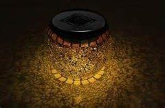 Solar Mosaic Jar Globes