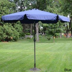 Deluxe  9-foot Outdoor  Tiltable Pateo Umbrella