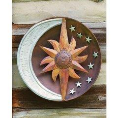 Celestial Flamed/Zinc Wall Disc