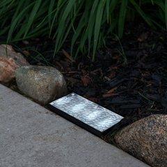 Recessed Rectangular Solar Landscape Paver Brick Light