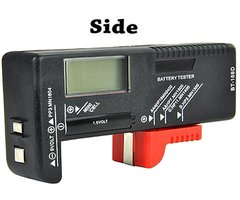 Digital Battery Tester for Multiple Battery Types