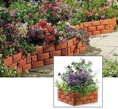 Snap Together  Brick Garden Border or Planter
