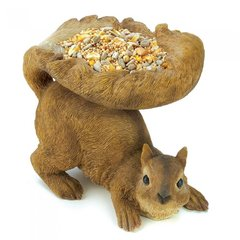Woodland Squirel Bird Feeder