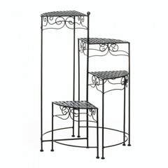 4-Tear Metal Plant Stand