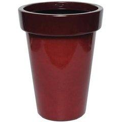 """Bombay 16"""" Garden Vase, Red Sedona"""