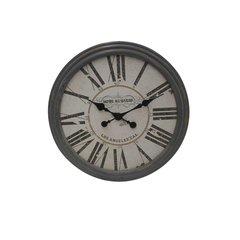 Classic Grey Wooden Clock by Urban Port