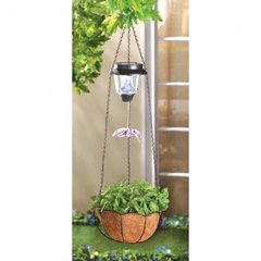 Solar Hanging Baskets