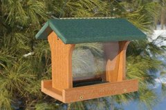 Going Green Recycled Bird Feeders