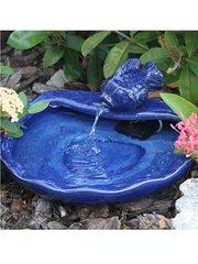 Ceramic Solar Dish Fountain