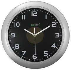 Solar Assisted 12-inch Wall Clock