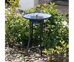 Solar Circulating Birdbaths