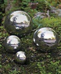 Stainless Steel Garden Gazing Balls Set of 4
