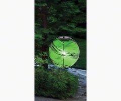 "Solar Hanging Gazing Balls Geometric Sphere 8"" in Diameter"