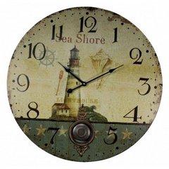"23"" Wooden Sea Clocks"