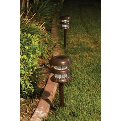 Solar 3-Tier LED Path Lights Pairs