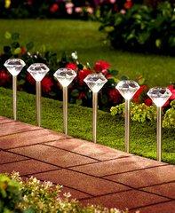Diamond Solar Path Stakes Set of 6
