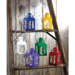 Railway Style Candle Lanterns