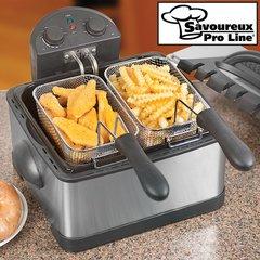Savoureux Pro Line 1700W Dual Deep Fat Fryer